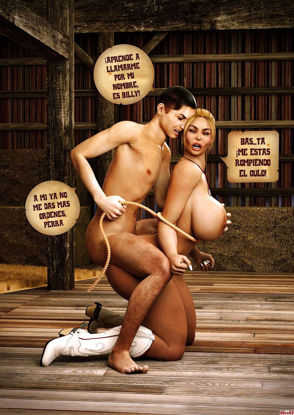 Domando a Leonora (3D Comic Porn)