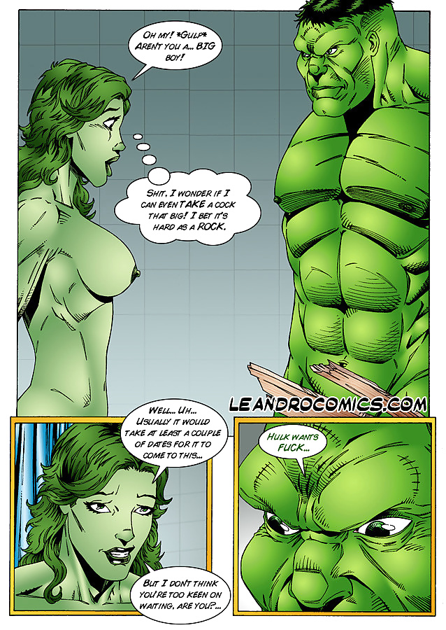 Hulk Comicxxx porno
