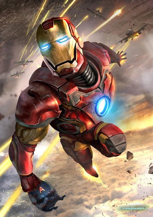 Iron Man avengers xxx