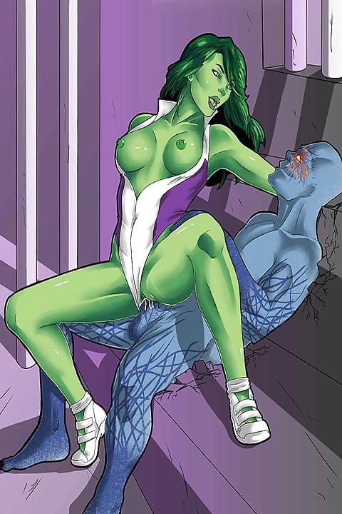 Marvel Sluts - She-Hulk