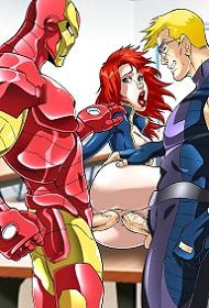 Superheroes Hentai