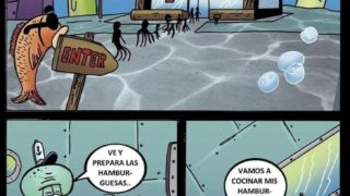 Bob Esponja xxx- Comics En Español.